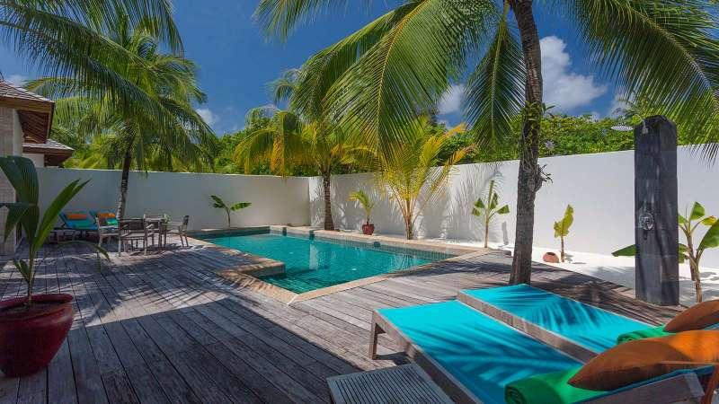 馬爾地夫出現4起武漢肺炎確診案例,兩座度假村因此全面隔離。(圖/Kuredu Island Resort & Spa)