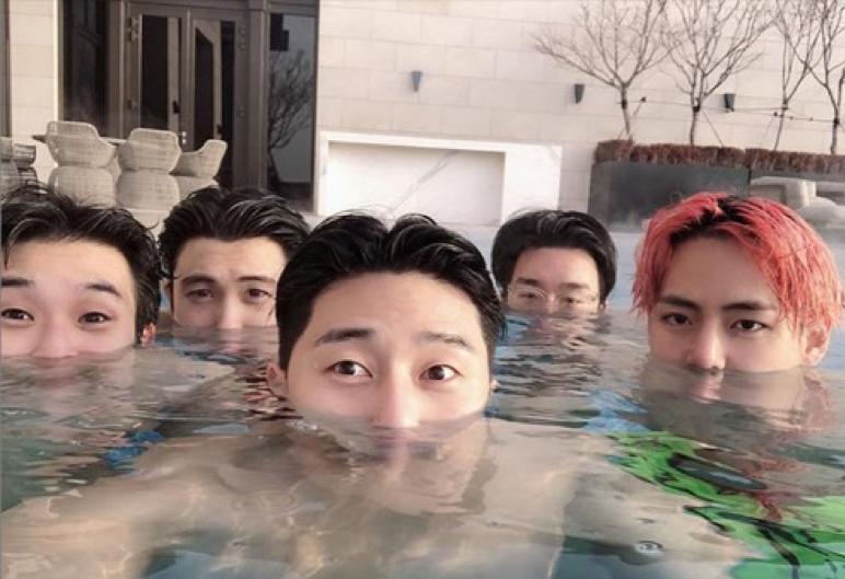 朴敘俊在南韓演藝圈人緣超好,有多位明星好友。(圖/朴敘俊Instagram)