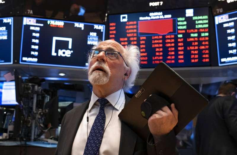 華爾街,美股。(美聯社)