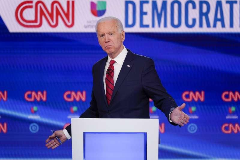 美國總統大選:前副總統拜登爭取民主黨提名(AP)