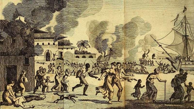 c06黃熱病疫情幫助海地反叛力量擊敗了法國軍隊,結束了法國殖民統治。(圖/BBC News)