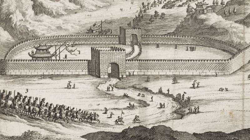 c11長城的很大一部分建於明朝,或在明朝得到加固、翻新。(圖/BBC News)