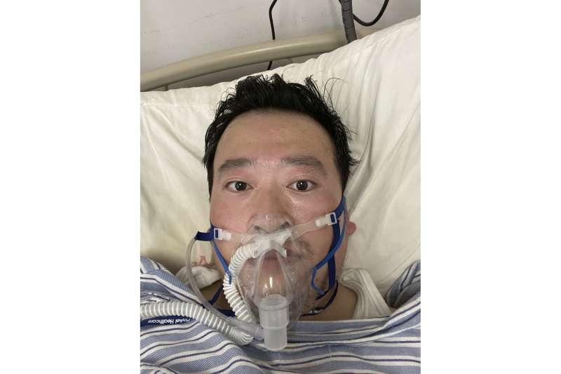 李文亮醫師,新冠肺炎(武漢肺炎,COVID-19)疫情衝擊全球(AP)(AP)