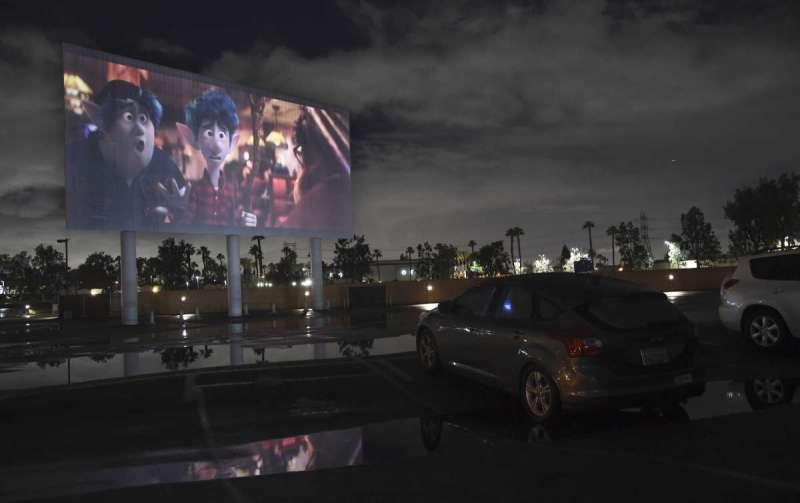 汽車戲院。(AP)