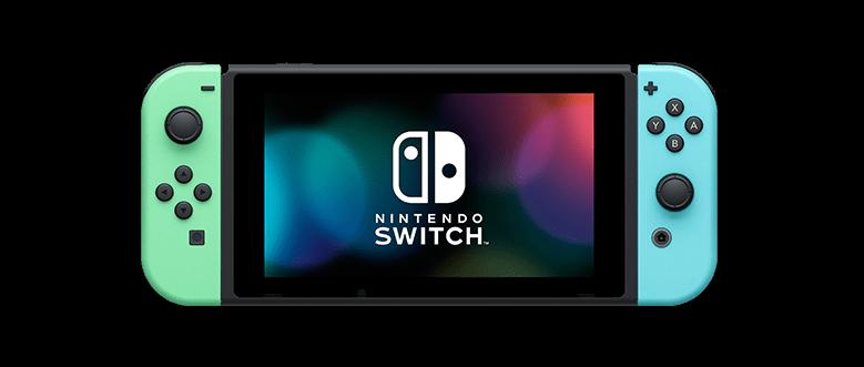 新款珊瑚藍、綠色手把,吸引許多粉絲目光。(圖/Nintendo Switch官網)