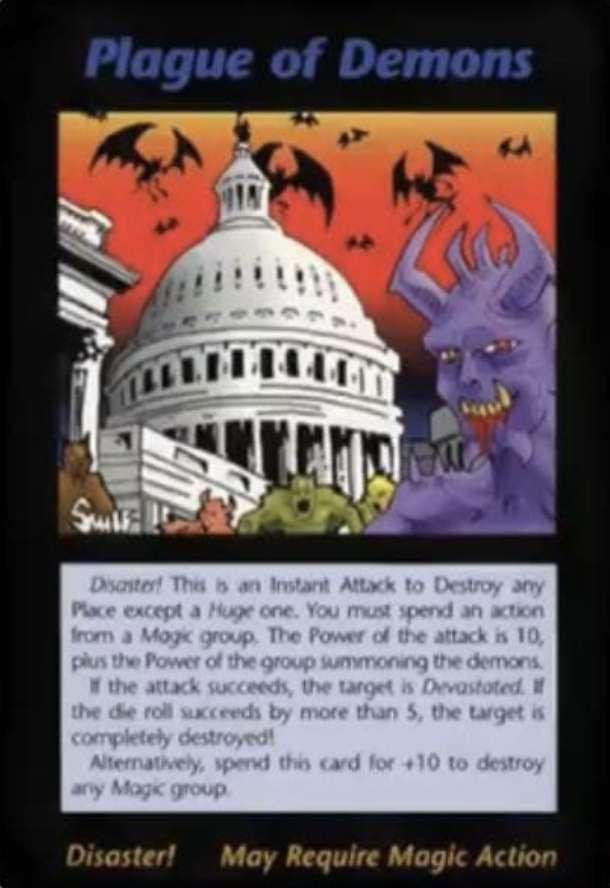 其中這張卡牌被聯想為預言武漢肺炎。(圖/截自dcard)