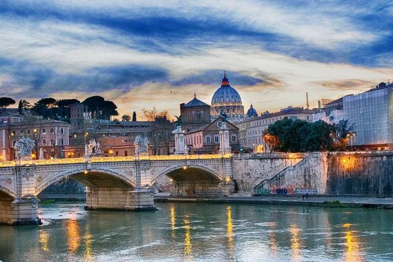 羅馬為地中海氣候,四季怡人。(圖片取自pixabay)