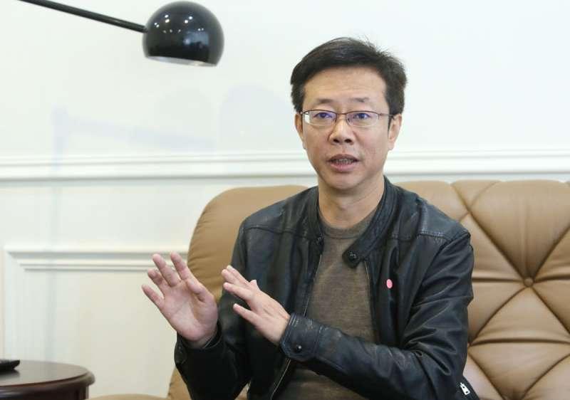 張宏陸在台北縣、板橋的行政歷練,讓他更能精進選民服務。(柯承惠攝)