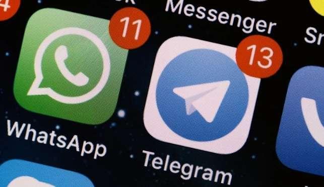 N號房群組是用Telegram加以傳播(圖/少女心文室)