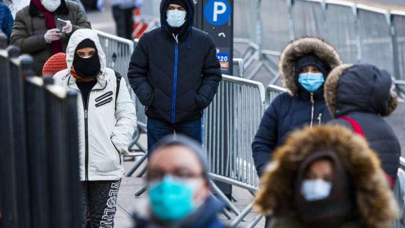 紐約州成為美國疫情最嚴重的地方。