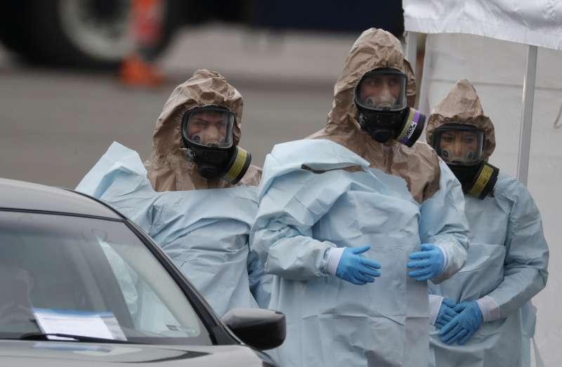 2020年新冠肺炎(武漢肺炎)侵襲美國,美軍全力備戰(AP)