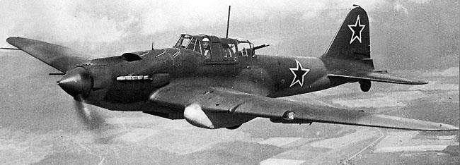 林挺生:紅軍IL-2對地攻擊機(資料來源:Wikimedia Commons)