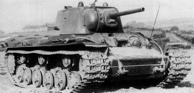 林挺生:紅軍KV-1重型戰車(資料來源:Wikimedia Commons)