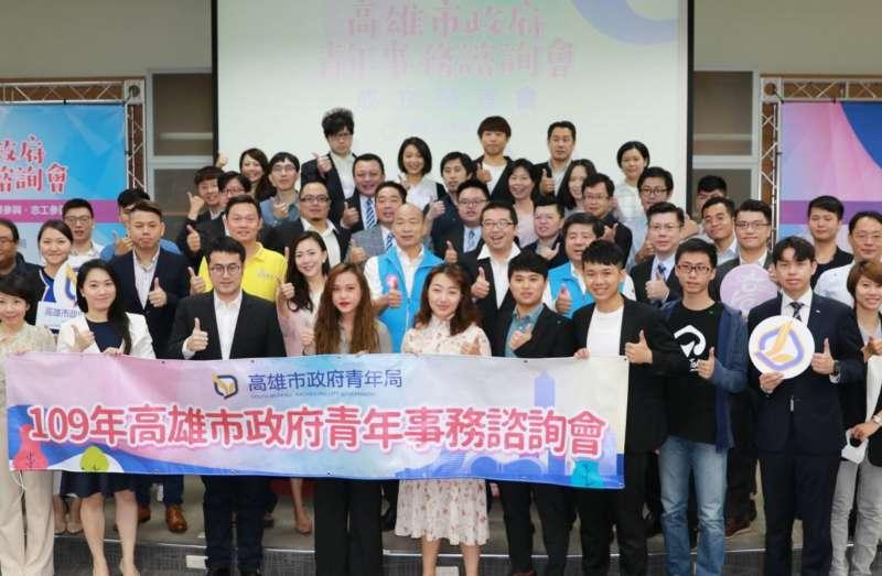 青年事務諮詢會遴選出46位成員,組成多元、廣泛,來自各行各業、族群。(圖/徐炳文攝)