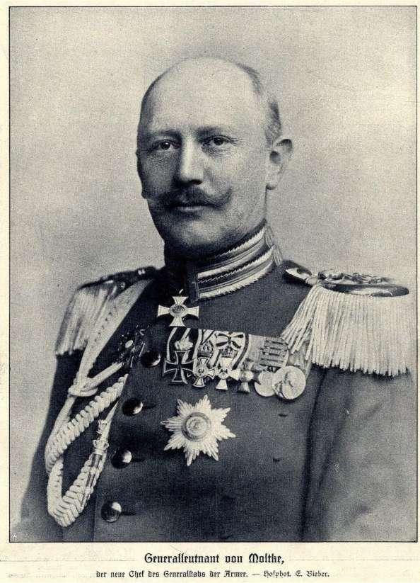小毛奇:1914年德國參謀總長