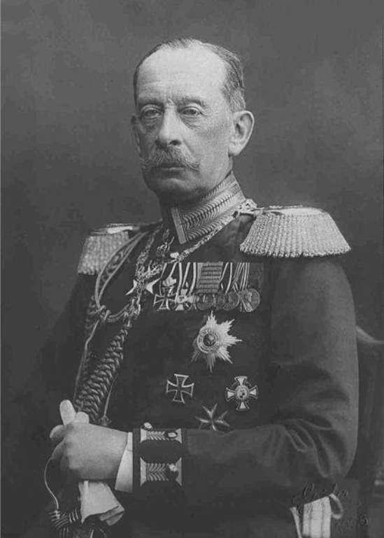 希里芬:德國陸軍元帥、參謀總長,「希里芬計畫」設計者