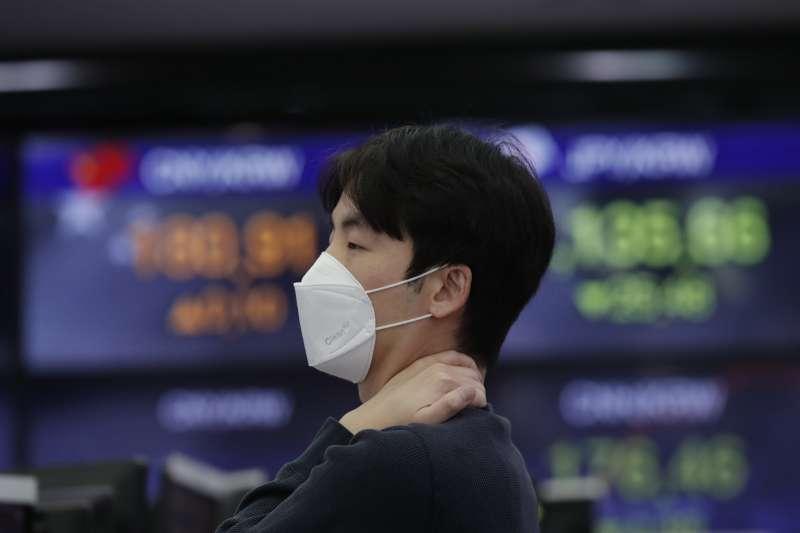 受疫情衝擊影響,世界銀行預估 2020年中國、東亞與亞太地區的經濟成長率僅2.1%(AP)
