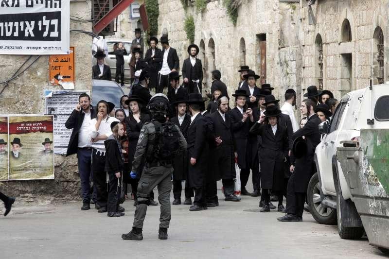 武漢肺炎:無視禁令的猶太教極端正統派可能成為以色列防疫破口(AP)