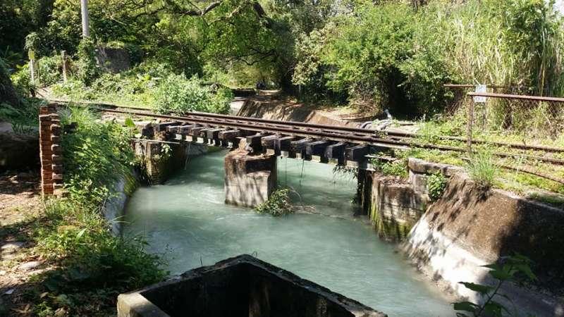(圖/進入隧道往前走,就能看到后里圳磚橋,拍起來壯觀。翻攝自,趙炯森Facebook)