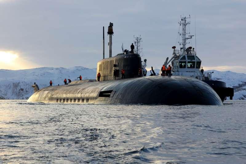 奧斯卡級核動力巡弋飛彈潛艇(Oscar II class submarine)「奧廖爾」號(K-266 Orel) (Mil.ru@Wikipedia/CC BY 4.0)