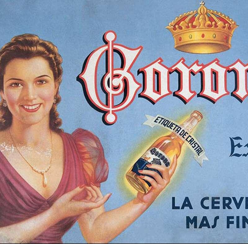 可樂娜啤酒問世近百年,在美國甚至比百威啤酒更暢銷(圖片來源:Modelo Group)