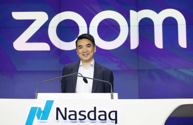 通訊軟體「ZOOM」的執行長袁徵為軟體的資安及隱私問題公開道歉(資料照,AP)