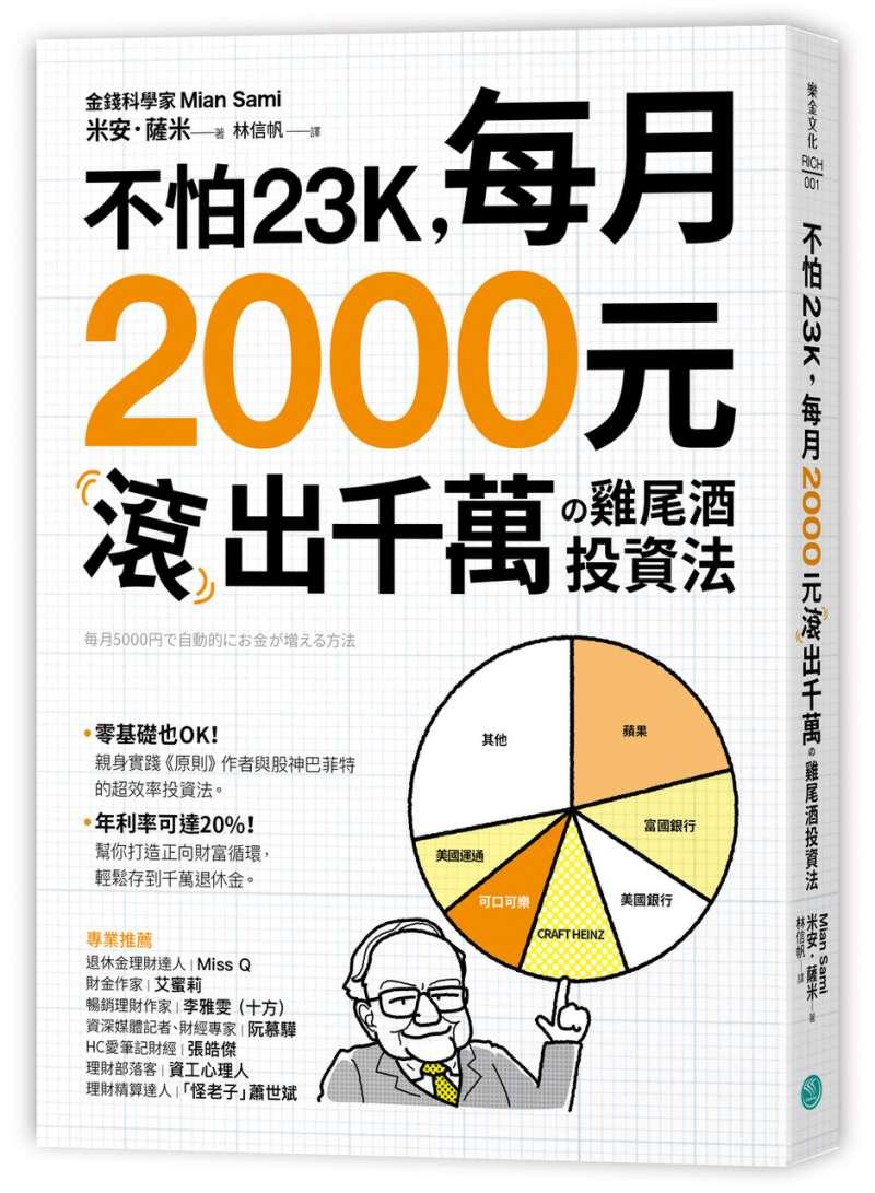 20200406不怕23K,每月2000元滾千萬の雞尾酒投資法(樂金文化提供)