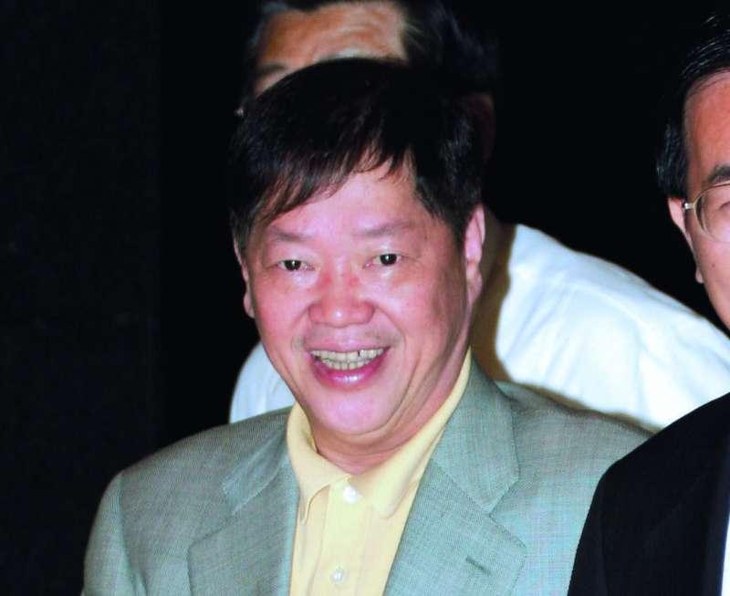 以三立董事長林崑海為首的海派,最近在民進黨內被戲稱「黨內第一大派」。(郭晉瑋攝)
