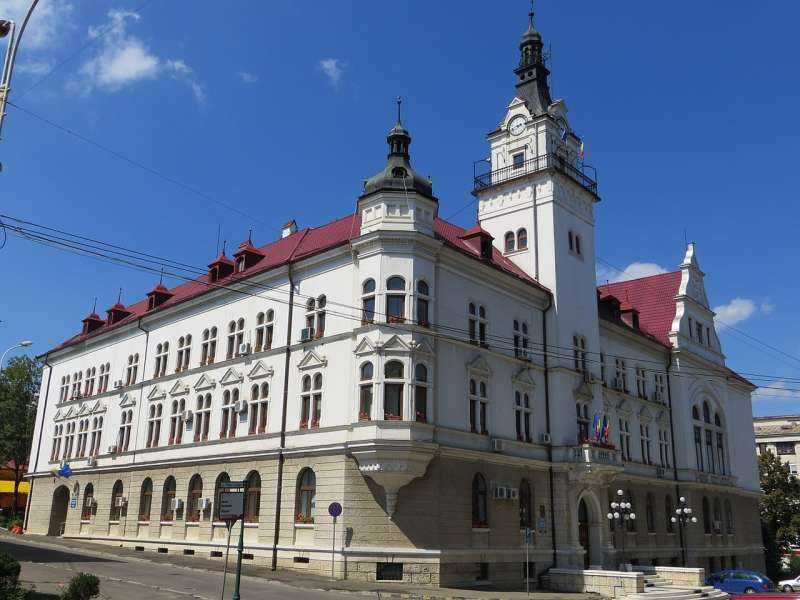 蘇恰瓦(Suceava),羅馬尼亞的城市,14-16世紀維摩爾達維亞公國首府。  (Musichistory2009@Wikipedia/CC BY 3.0)