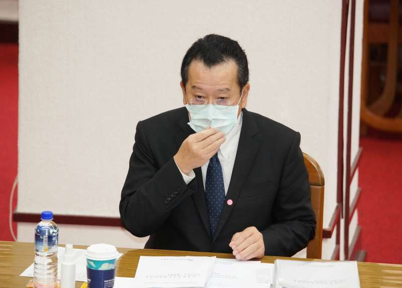 20200409-金管會主委顧立雄9日於財政委員會備詢。(盧逸峰攝)