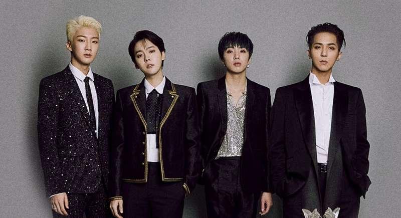 南韓偶像團體WINNER呼應大家待在家聽歌(圖/取自WINNER臉書專頁)
