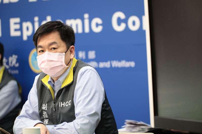 20200413-中央流行疫情指揮中心13日召開例行記者會,副指揮官陳宗彥出席。(指揮中心提供)