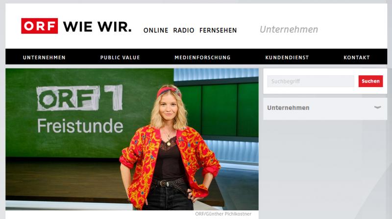 奧地利國家電視台ORF因應政府防疫停課政策,推出適合學童觀看的益智節目,每日上午播出(圖片來源:ORF官網)