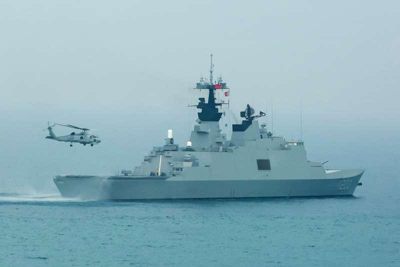 拉法葉艦是封閉的戰系操控,中科院無法修改,只能對法採購。(顏麟宇攝)