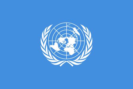 在聯合國的場合,台灣將比中國弱,但若是組成「民主聯盟」,情況將不再相同。圖為聯合國會旗。(圖片取自維基百科)