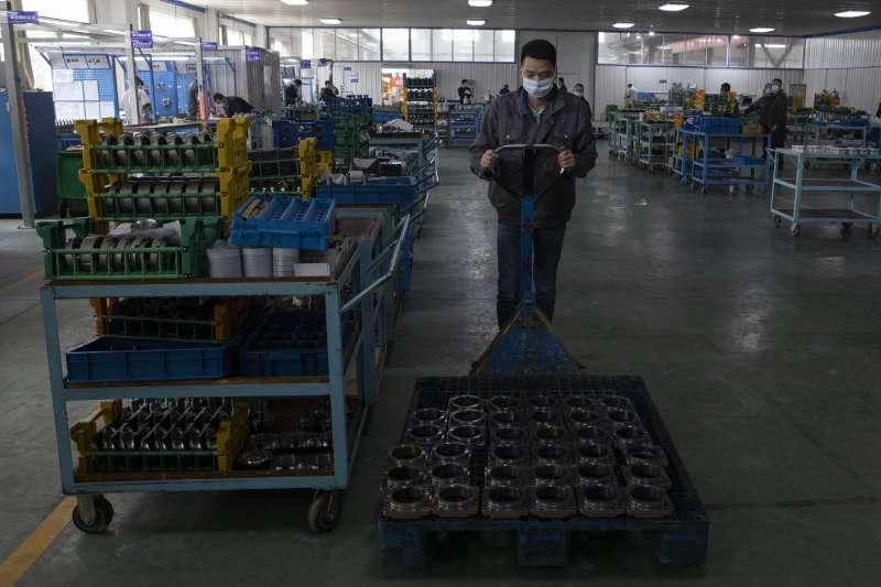 2020年新冠肺炎(武漢肺炎)疫情重創中國經濟(AP)