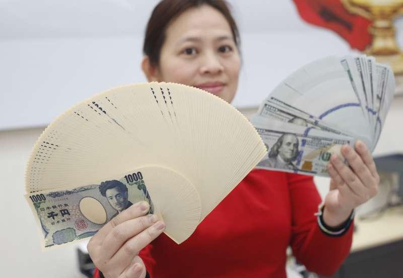 由於日本退休金資金持續流出,對第1季日圓構成壓力。(郭晉瑋攝)