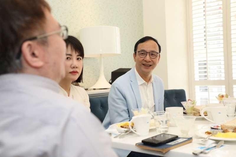 20200420-前國民黨主席朱立倫20日在臉書上發布「台灣早安Ep2」。(朱立倫辦公室提供)