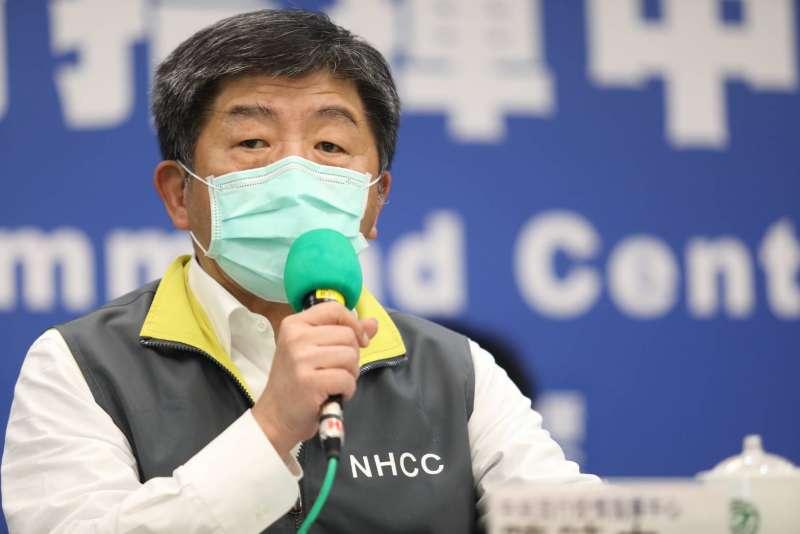 20200425-中央流行疫情指揮中心25日召開記者會,圖為指揮官陳時中。(指揮中心提供)