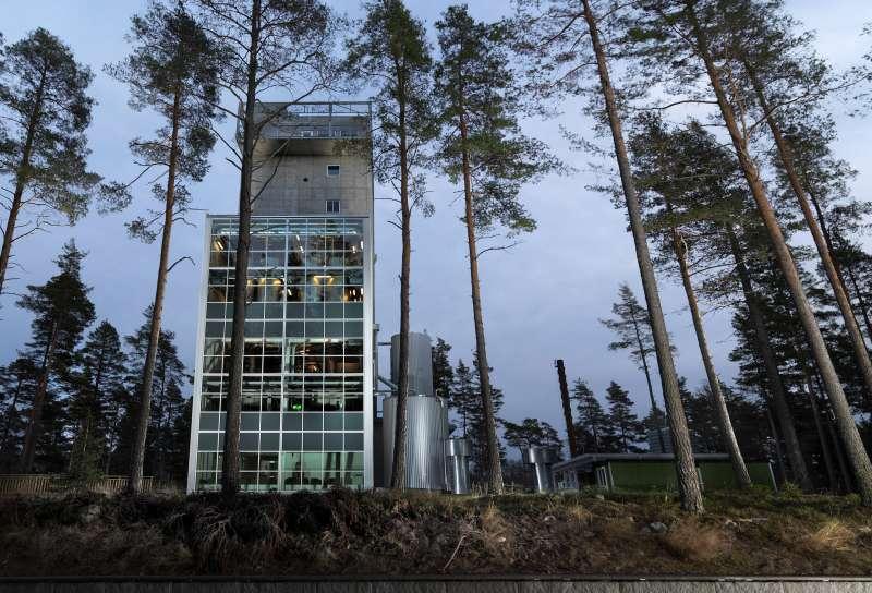 麥格瑞酒廠在釀造過程中充分利用重力設計來節省能源(圖/酒心智庫提供)