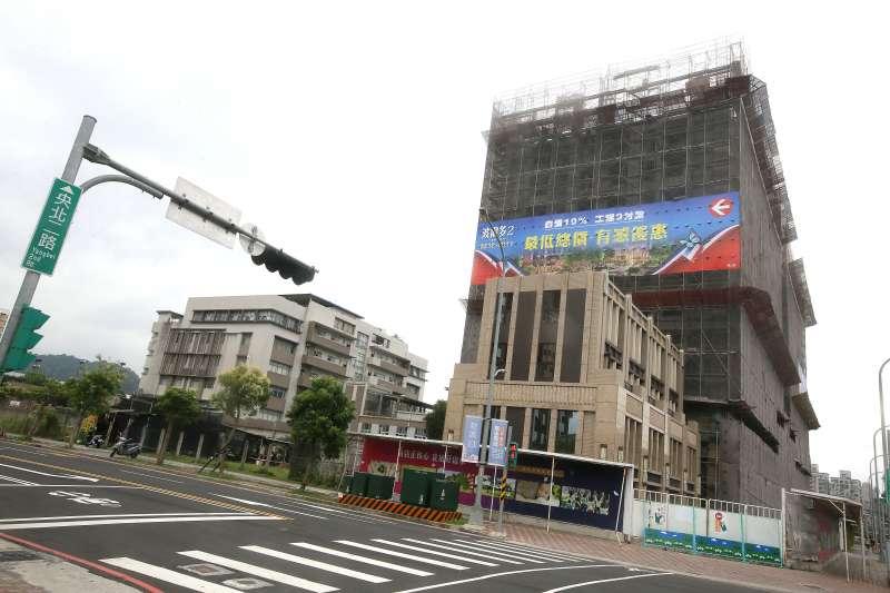 新店央北重劃區在520檔期中的推案量達150億元以上。(柯承惠攝)