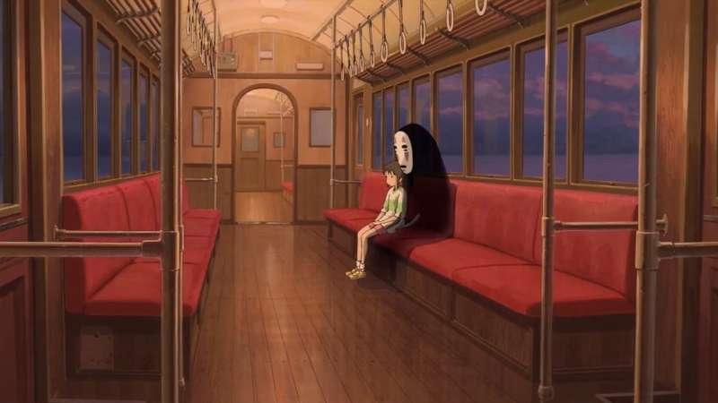 無臉男一開始出現在劇中時一無所有,他的生活充滿寂寞。(圖/取自IMDb)