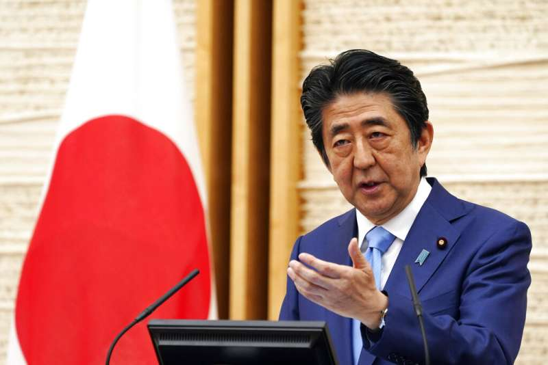 日本首相安倍晉三。(美聯社)