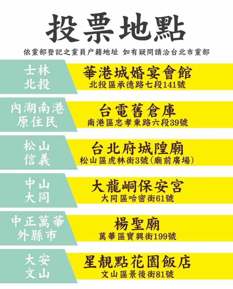 20200505-民進黨職選舉將在5月24日舉行。(讀者提供)