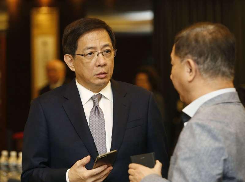 石木欽指控呂太郎多次向他打探台大校長管中閔(左)懲戒案審理進度。(郭晉瑋攝)