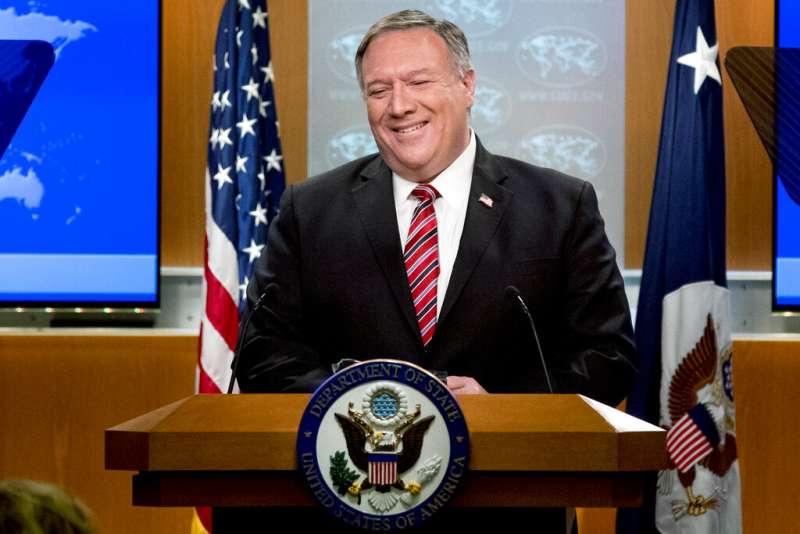 美國國務卿龐畢歐6日在國務院記者會上指出,美國政府儘管有「大量證據」,但還不能肯定中國武漢實驗室是否意外釋放致命的新型冠狀病毒。(AP)