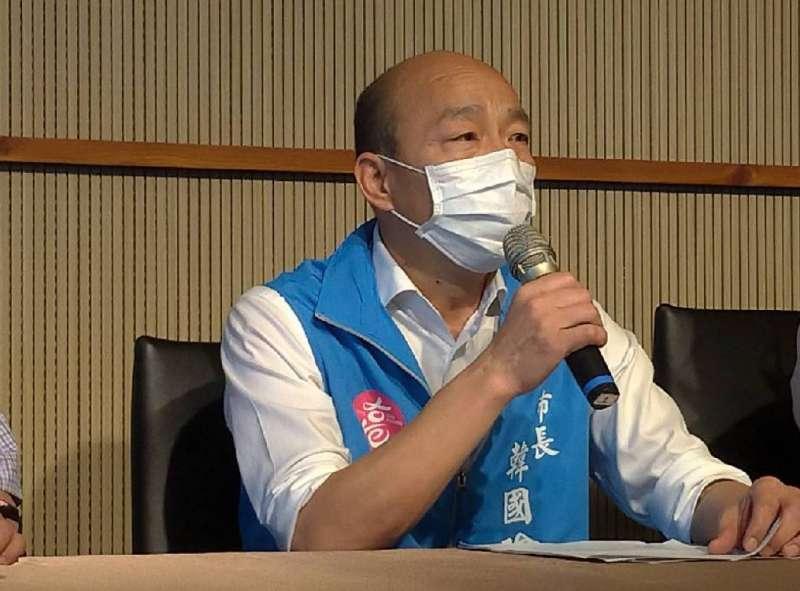 高雄市長韓國瑜罷免選舉箭在弦上,將於6月6日投票。(圖/徐炳文攝)