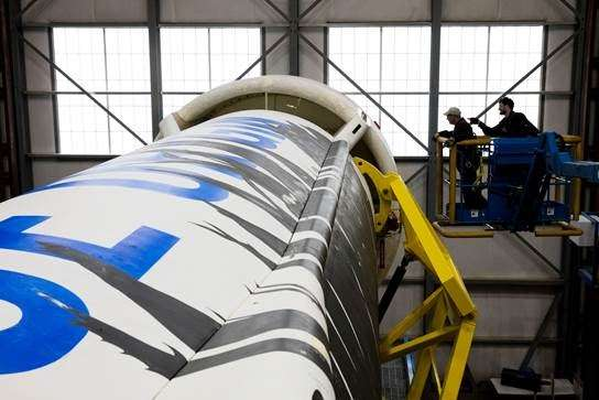 藍色起源曾在2018年時獲得NASA贊助的1千萬美元,發展登陸月球的專案。(圖片來源:貝佐斯IG)