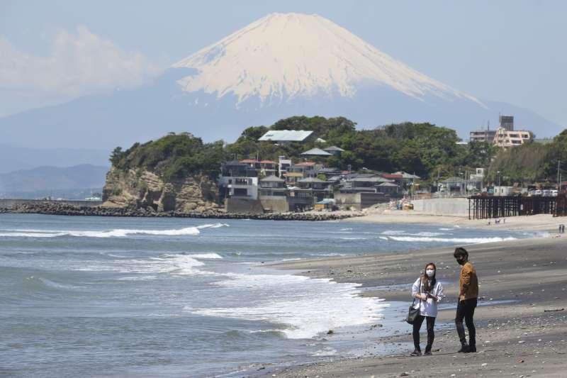 籠罩在新冠肺炎疫情下的日本(AP)