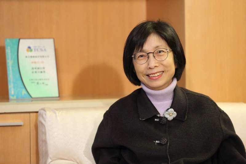 圖為東元電機董事長邱純枝,東元於今天上午召開股東說明會,並在一週前發佈致股東公開信。(圖:東元)